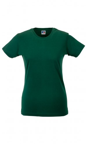 Ladies Slim T [Bottle Green, XS]
