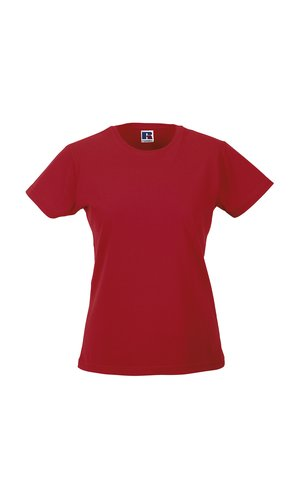 Ladies Slim T [Classic Red, XS]