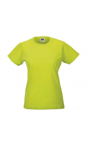 Ladies Slim T [Lime, XS]