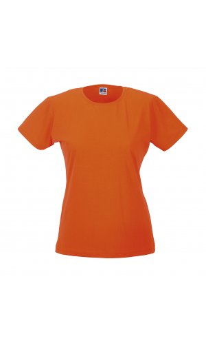 Ladies Slim T [Orange, XS]