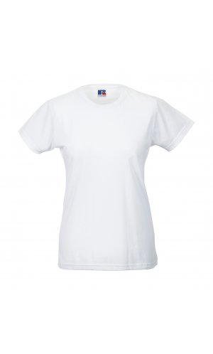 Ladies Slim T [White, XS]