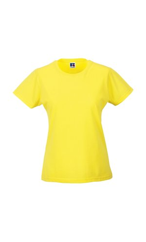 Ladies Slim T [Yellow, XS]