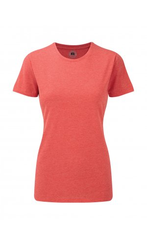 Ladies HD T-Shirt [Red Marl, XS]