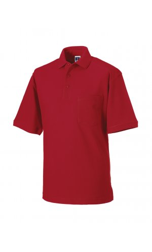Workwear-Poloshirt [Classic Red, XS]
