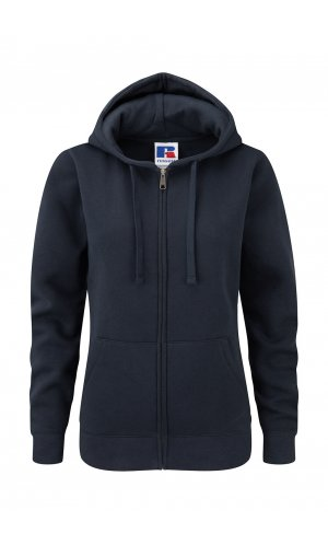 Ladies Authentic Zipped Hood [French Navy, XS]