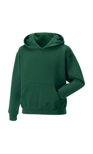 Children´s Hooded Sweatshirt [Bottle Green, 104]