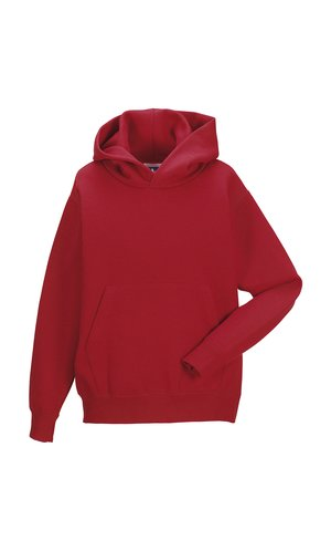 Children´s Hooded Sweatshirt [Classic Red, 104]