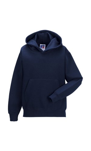 Children´s Hooded Sweatshirt [French Navy, 104]