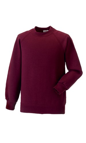 Kids Raglan-Sweatshirt [Burgundy, 90]