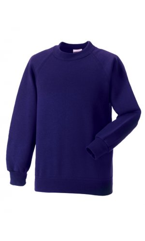 Kids Raglan-Sweatshirt [Purple, 90]