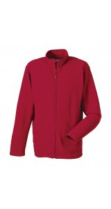 Microfleece Full-Zip [Classic Red, M]