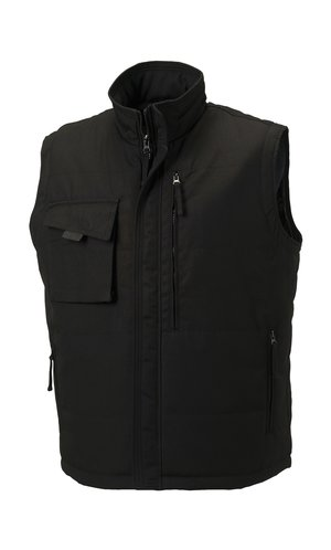 Workwear Bodywarmer [Black, XS]