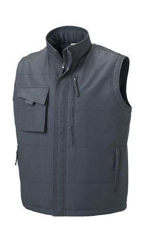 Workwear Bodywarmer [Convoy Grey (Solid), XS]