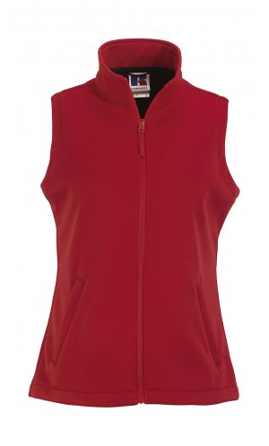Ladies SmartSoftshell Gilet [Classic Red, XS]