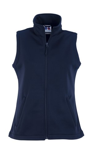 Ladies SmartSoftshell Gilet [French Navy, XS]