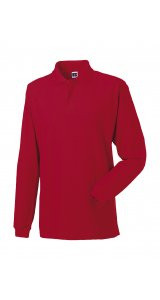 Longsleeve Classic Cotton Polo [Classic Red, M]
