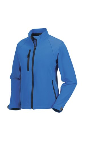 Ladies Softshell-Jacket [Azure Blue, XS]