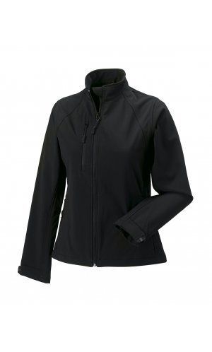Ladies Softshell-Jacket [Black, XS]