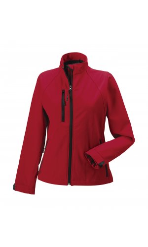 Ladies Softshell-Jacket [Classic Red, XS]