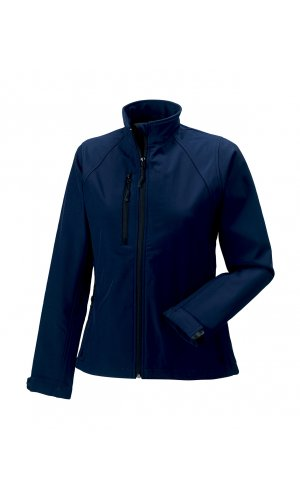 Ladies Softshell-Jacket [French Navy, XS]
