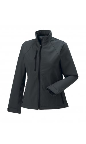 Ladies Softshell-Jacket [Titanium (Solid), XS]