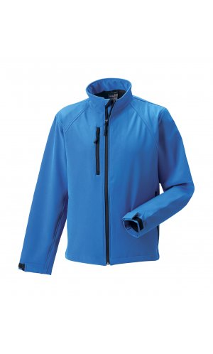 Softshell-Jacket [Azure Blue, XS]