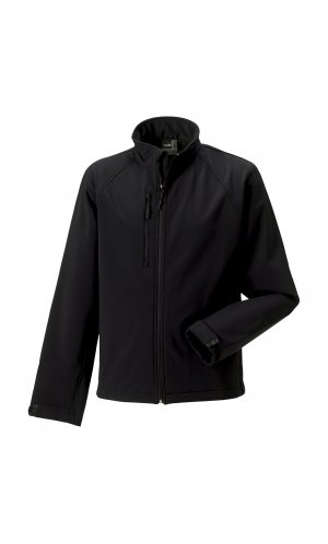 Softshell-Jacket [Black, XS]