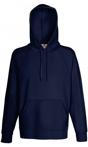 LIGHTWEIGHT HOODED SWEAT, Fotl, Sweats    [Deep Navy, S]