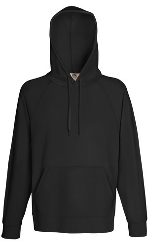 LIGHTWEIGHT HOODED SWEAT, Fotl, Sweats    [Graphit, S]