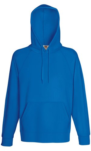 LIGHTWEIGHT HOODED SWEAT, Fotl, Sweats    [Royal, S]