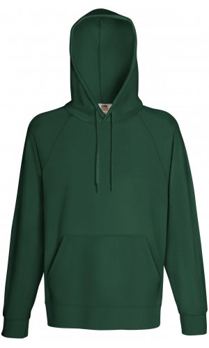 LIGHTWEIGHT HOODED SWEAT, Fotl, Sweats    [Flaschengrün, S]