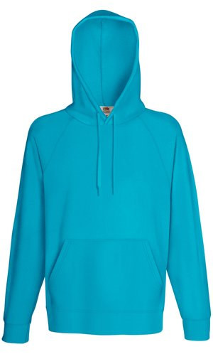 LIGHTWEIGHT HOODED SWEAT, Fotl, Sweats    [Azurblau, S]
