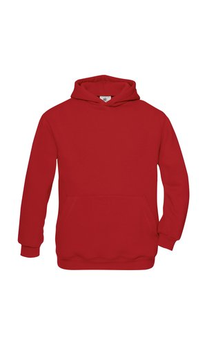 Hooded Sweat / Kids [Red, 122/128]