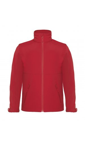 Hooded Softshell / Kids [Red, 134/140]