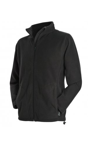 Active Fleece Jacket [Black Opal, S]