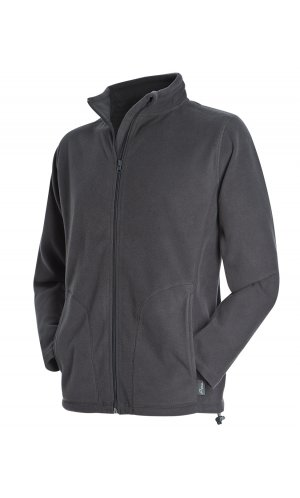 Active Fleece Jacket [Grey Steel (Solid), S]