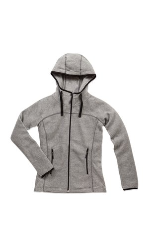 Active Power Fleece Jacket for women [Grey Heather, M]