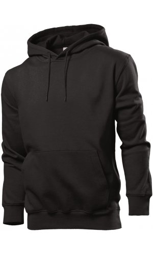 Hooded Sweatshirt [Black Opal, L]