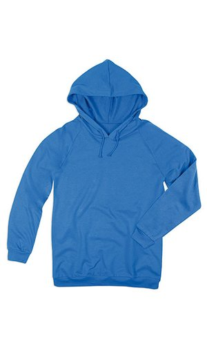 Unisex Hooded Sweatshirt [Bright Royal, XS]