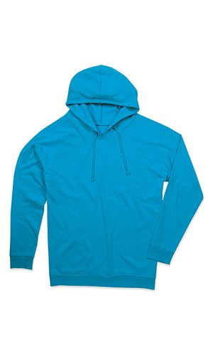 Unisex Hooded Sweatshirt [Ocean Blue, XS]