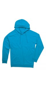 Unisex Hooded Sweatshirt [Ocean Blue, L]