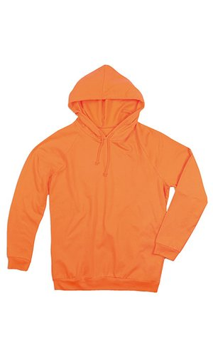 Unisex Hooded Sweatshirt [Orange, XS]