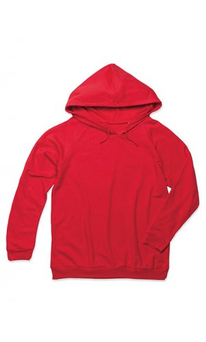 Unisex Hooded Sweatshirt [Scarlet Red, XS]