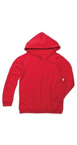 Unisex Hooded Sweatshirt [Scarlet Red, L]