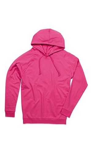 Unisex Hooded Sweatshirt [Sweet Pink, XS]