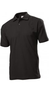 Short Sleeve Polo [Black Opal, S]
