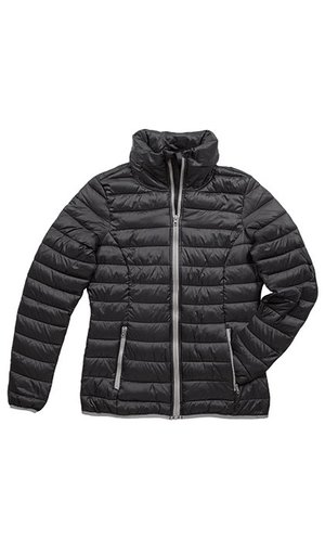 Active Padded Jacket for women [Black Opal, S]