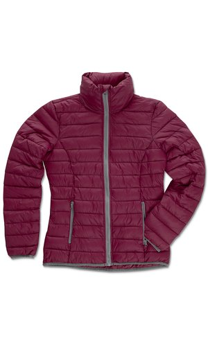 Active Padded Jacket for women [Bordeaux, S]