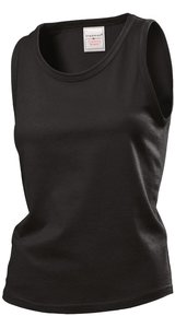 Classic-T Tank Top for women [Black Opal, S]