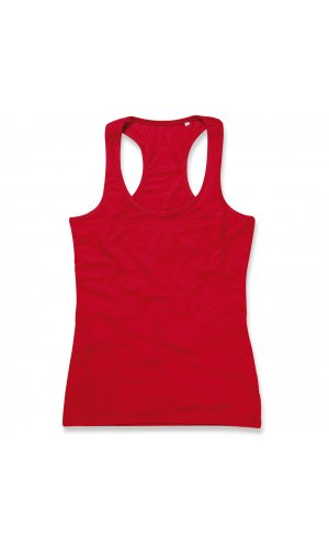 Active 140 Tank Top for women [Crimson Red, S]